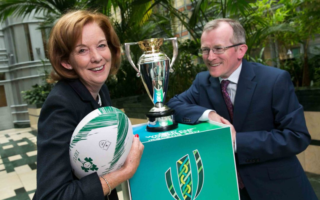 Tourism Ireland lines out to push island at Women's Rugby World Cup