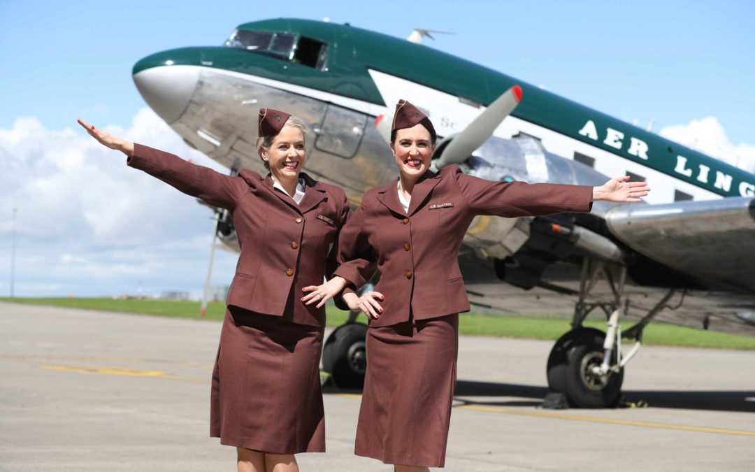 Aer Lingus relives the glamour days of aviation as 1940s DC-3 lands in Dublin