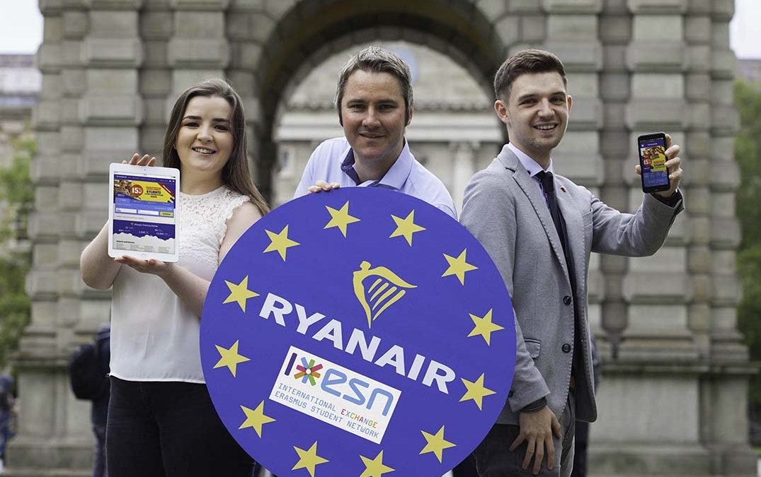 Ryanair targets next generation of travellers with launch of student programme