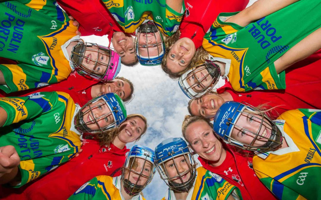 Tourism Ireland pitches Ireland with friendly clash of Canadian rugby players and camogie girls