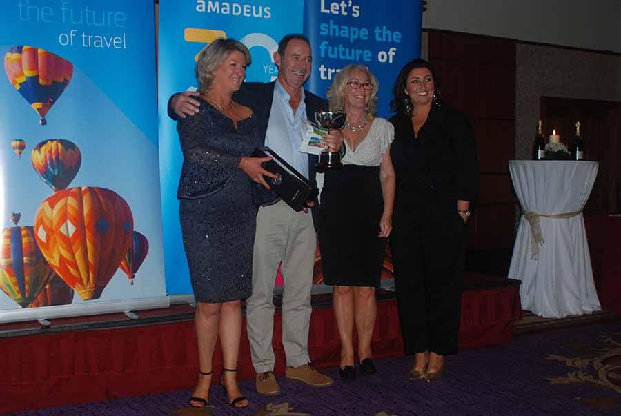 John Cassidy & Eileen Penrose win Amadeus golf event