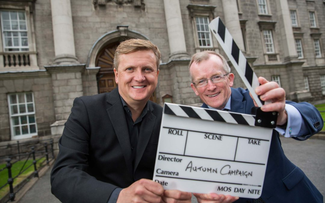 Singer Aled Jones, Tourism Ireland's recording star for autumn campaign