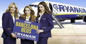 Ryanair announces Shannon to Barcelona Reus route, September 13, 2017