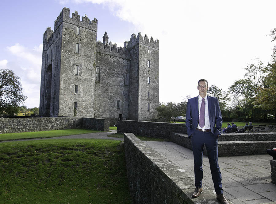Former Irish athlete Niall O'Callaghan gets up and running as new MD of Shannon Heritage