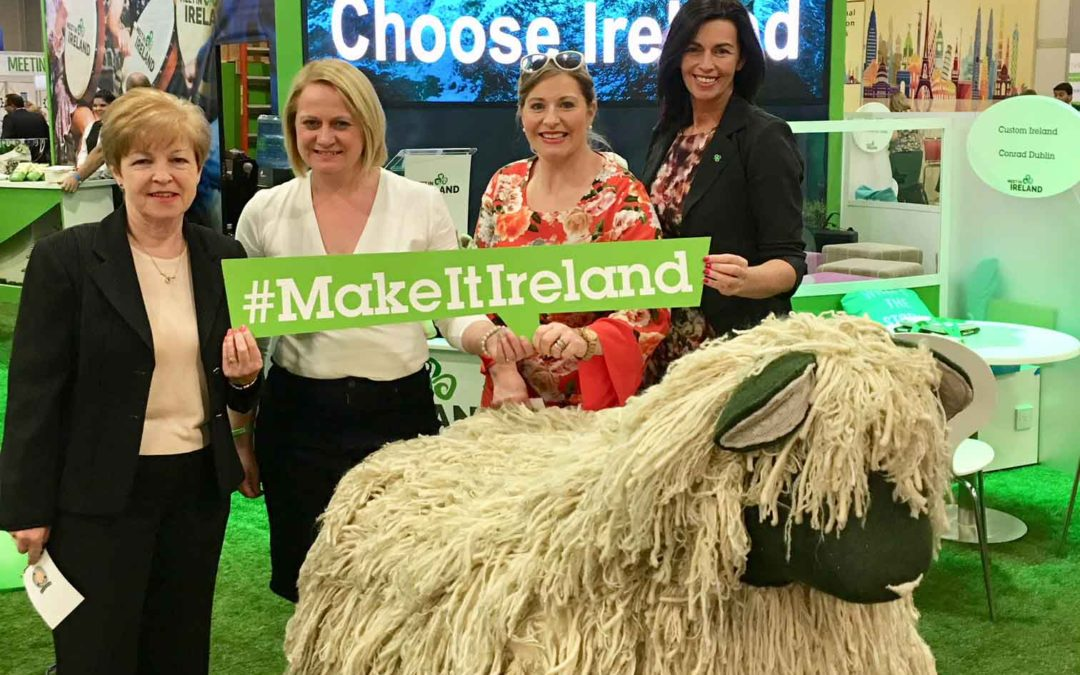Ireland showcased to 3,000 US buyers at Las Vegas travel event