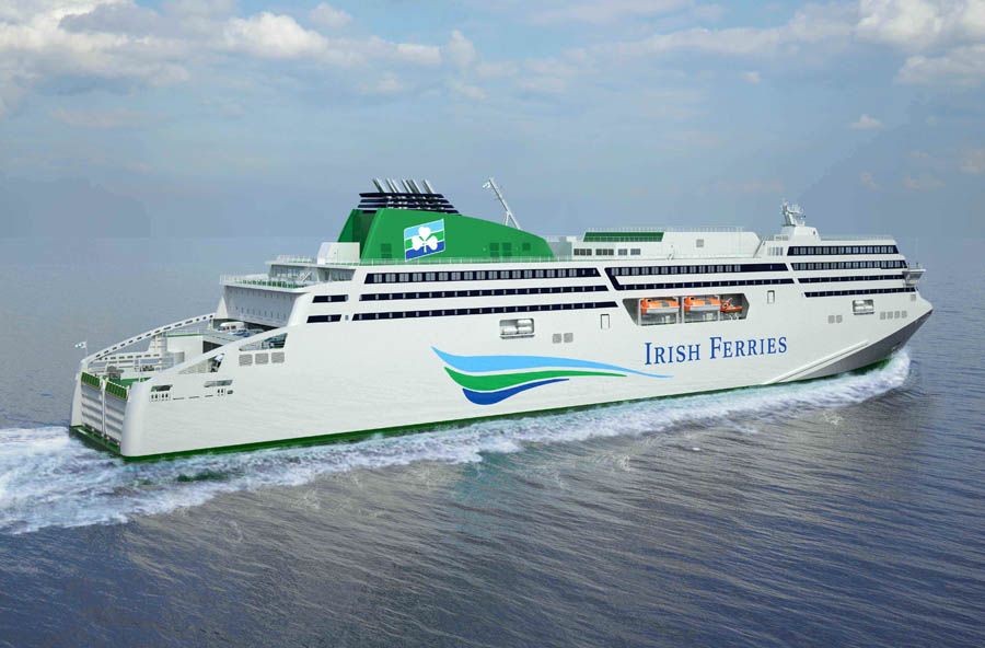 DAILY to France: Irish Ferries to double sailings on Ireland-France routes with introduction of WB Yeats