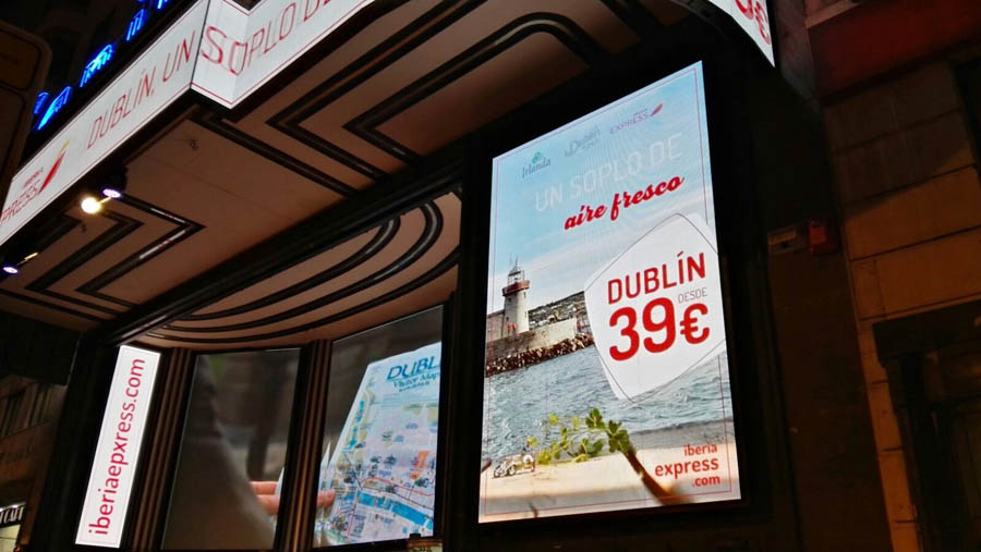 Iberia Express teams up with Tourism Ireland to promote Dublin as an off-season destination
