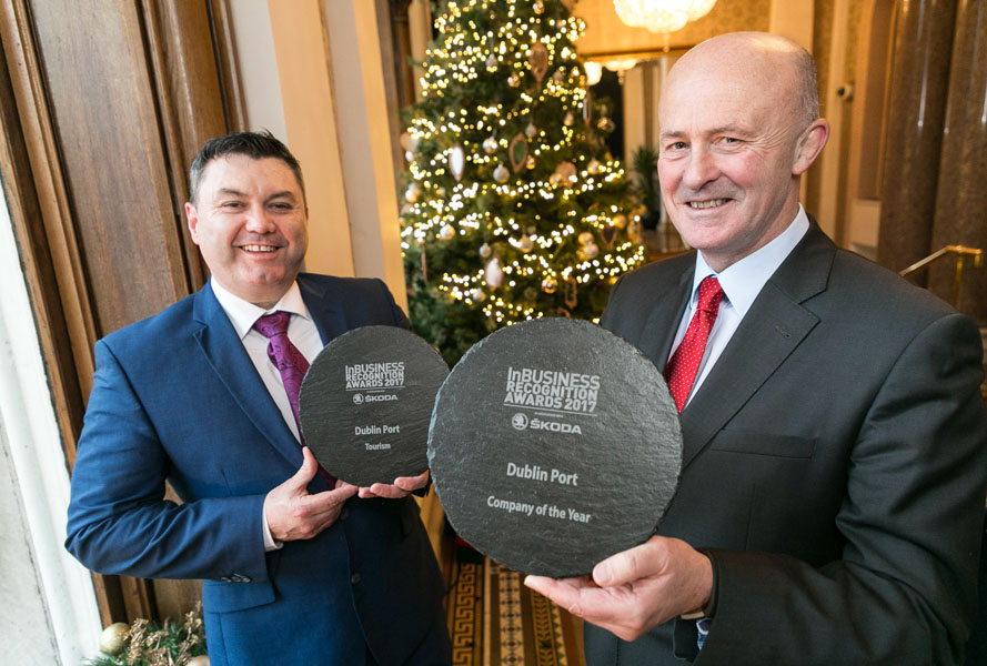 Dublin Port named Company of the Year at Irish business awards