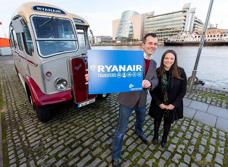 Cartrawler signals move into airport transfer business with Ryanair deal