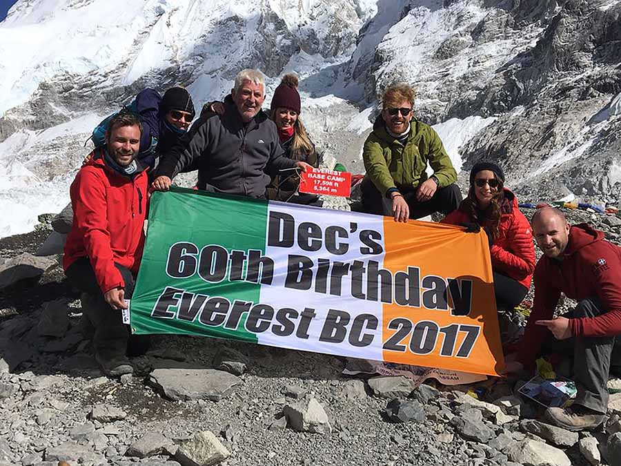 Everest Base Camp with Declan O'Connell of Lee Travel