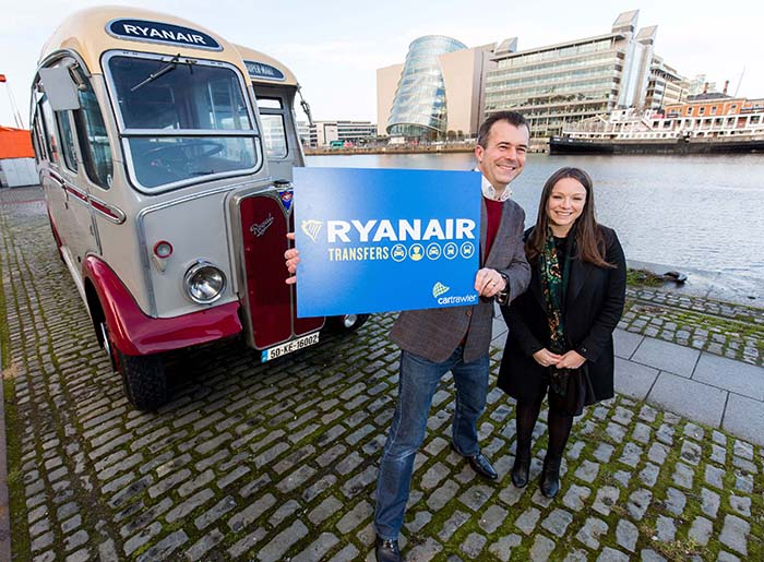 Ryanair launches ground transportation deal with Dublin firm as Porto hub goes live