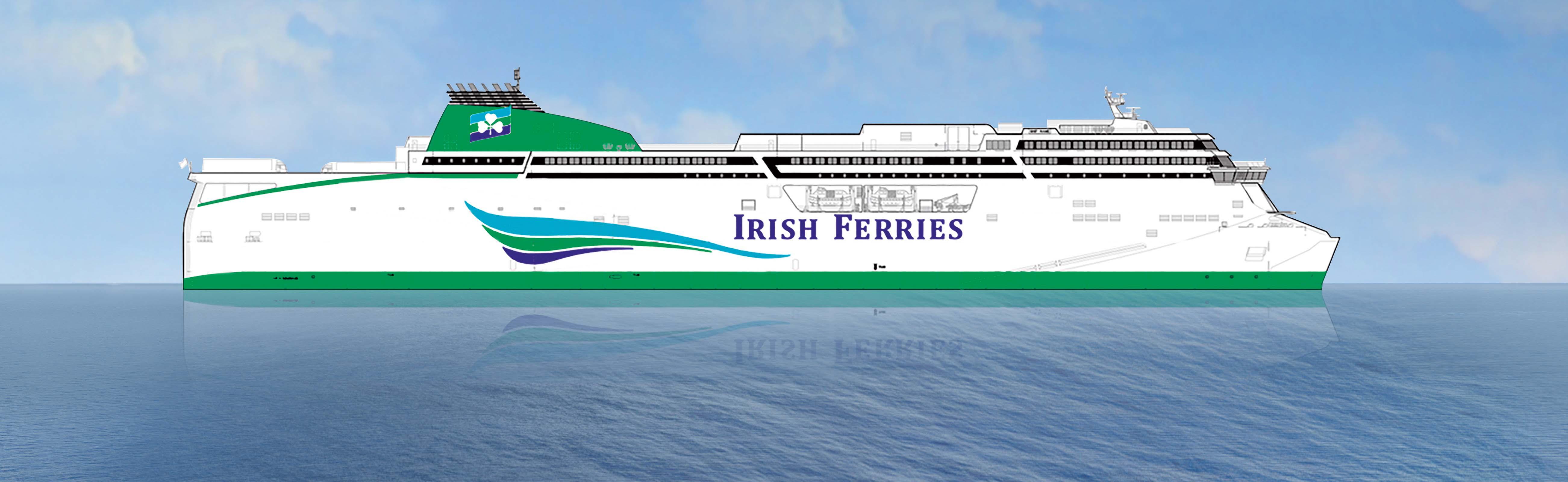 Irish Ferries to add new €165m ferry on Dublin-Holyhead route