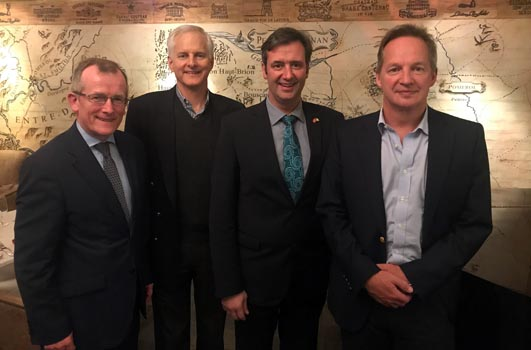 Cathay Pacific leaders discuss direct Dublin service with Irish delegation
