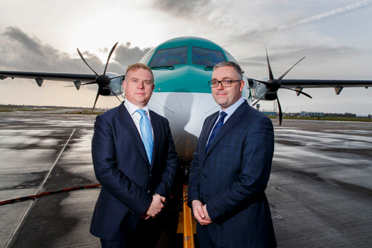 Stobart Air to deploy new ATR42 aircraft to Donegal and boost services to Kerry with ATR72s- copy