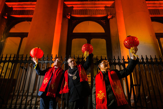As the world gets set to go green, Dublin sees red for Chinese new year