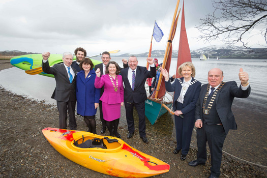 Lough Derg Blueway officially launched by three-county initiative by Clare, Tipperary and Galway
