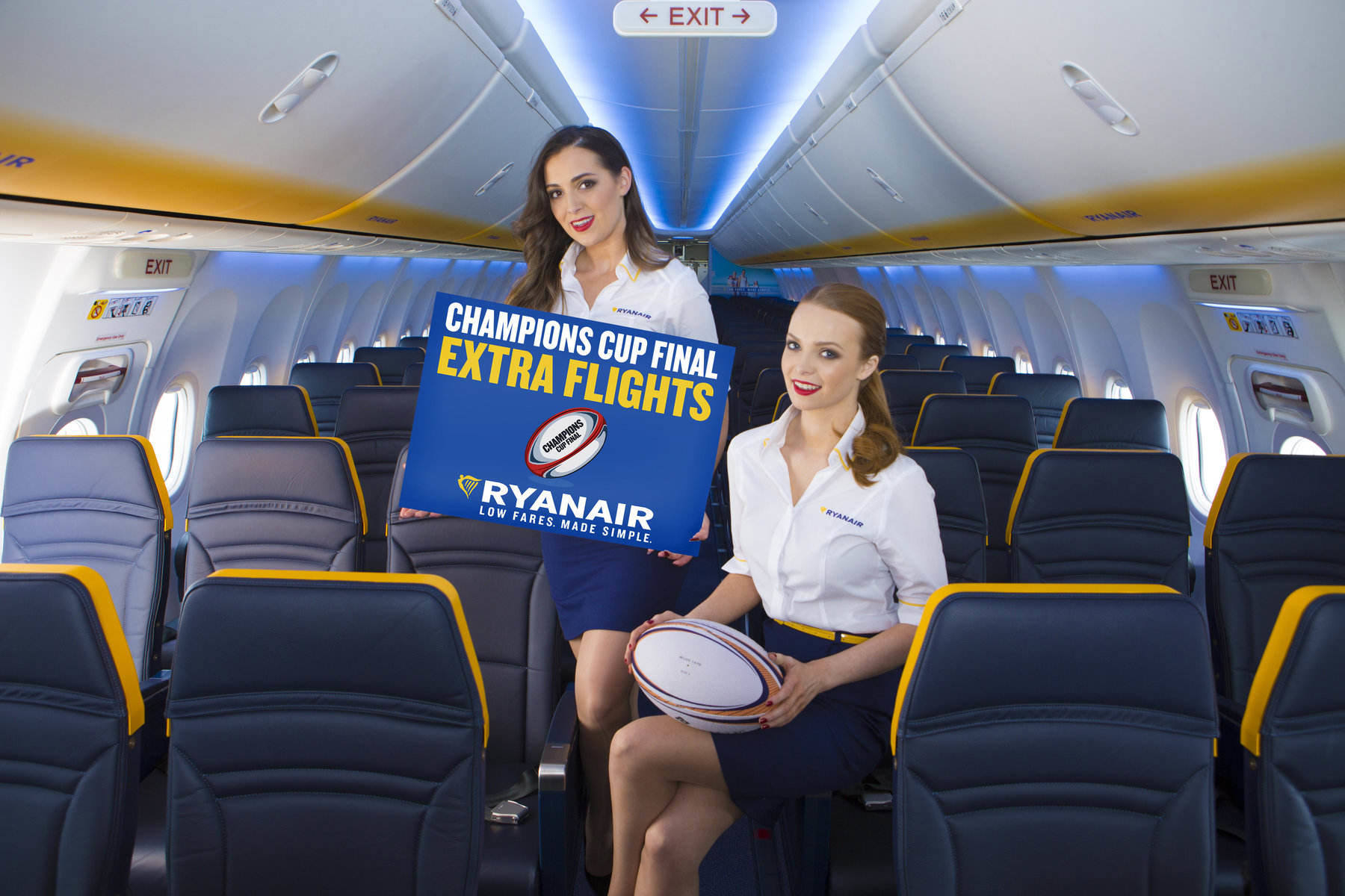 Ryanair puts on extra flights to European rugby final for confident Leinster and Munster fans