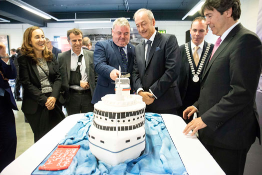 Irish, French and Spanish combine to celebrate 40 years of Brittany Ferries in Cork