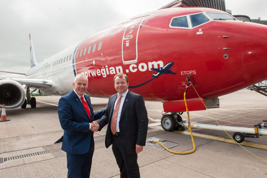 US visitors could outnumber British in Cork on back on Norwegian transatlantic route