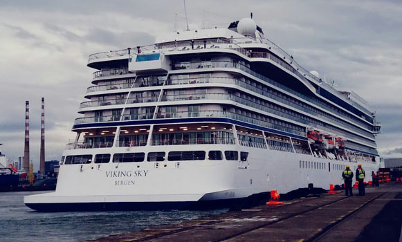 Dublin welcomes 10,000 cruise ship passengers over bank holiday week