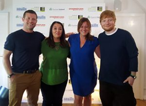 A host of Irish talent performed alongside Ed Sheeran at a fundraising concert for the London Irish Centre (LIC) which was hosted by Dermot O'Leary and supported by Tourism Ireland.