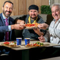 Andrew Murphy, Managing Director Shannon Airport, Chef Brian O'Mara and Ean Malone at the new JJ Ruddles restaurant. Photo: Arthur Ellis.