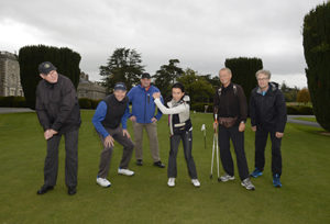 11/10/2018, Maynooth, Co Kildare – German golf writers have been visiting Ireland, as guests of Tourism Ireland and Fáilte Ireland. The group – which includes journalists from a daily newspaper, regional newspapers and a golf magazine – has a combined audience of more than 1 million readers, or potential golf holidaymakers for Ireland.