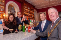 Lisa Cannon, broadcaster; Aaron Mansworth, Group General Manager, Trigon Hotels; Roger Russell, General Manager Metropole Hotel, and Cllr. Mick Finn, Lord Mayor of Cork.