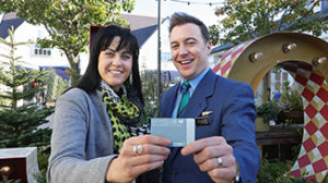 Maria Healy from Balgriggan is AerClub's one millionth passenger