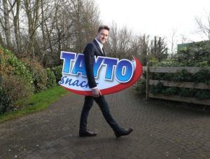 Jeff Swan, MD of Tayto Snacks