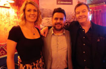 Leah Whitfield, PR and Communications Manager, MD Brian Young and Global Purpose Specialist John Grehan at the G Adventures launch
